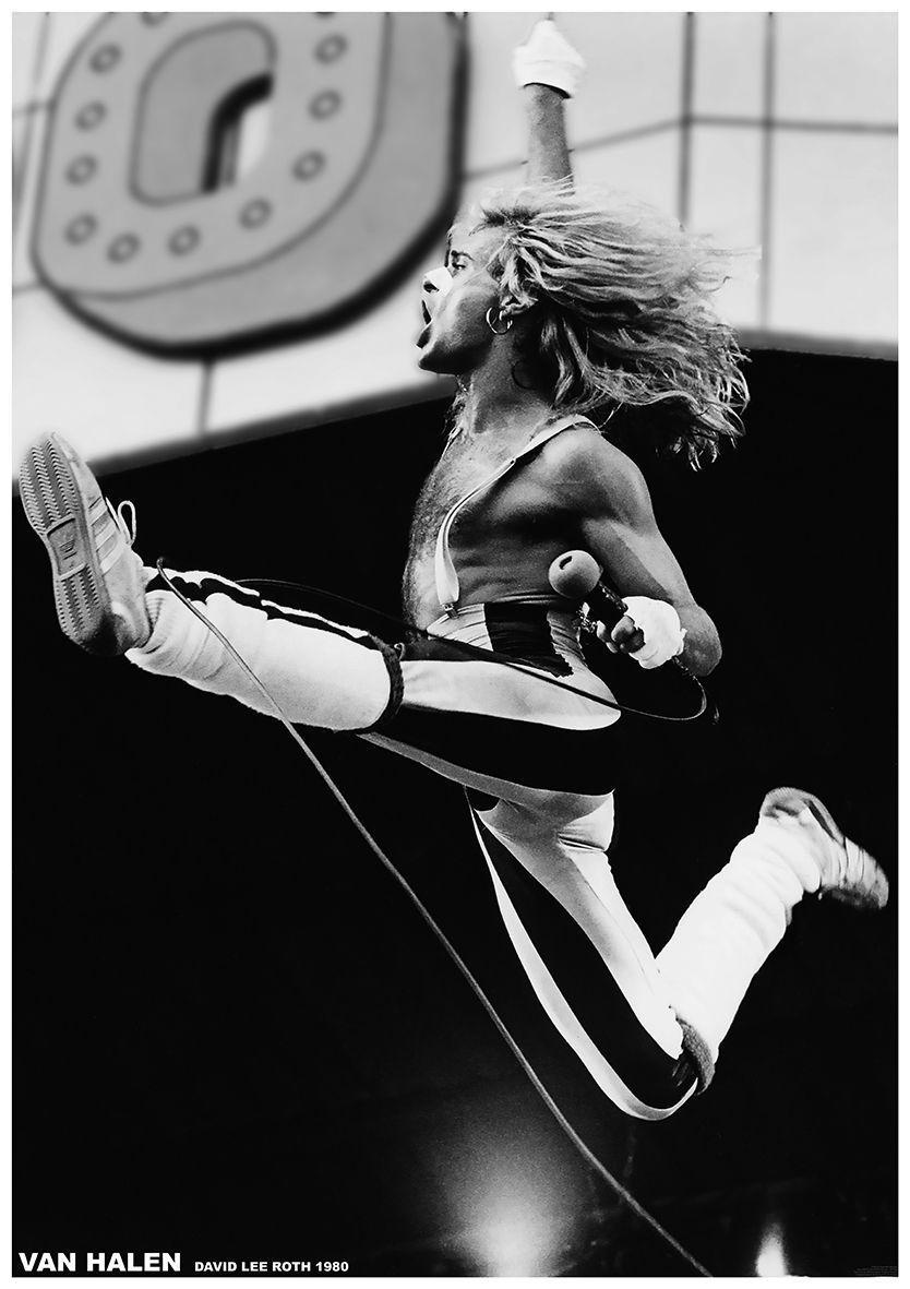 Mymindlostme David Lee Roth Van Halen 1980 David Lee Roth Van Halen David Lee