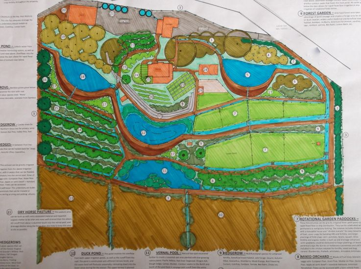 20 Acre Permaculture Homestead Design A much bigger scale ...