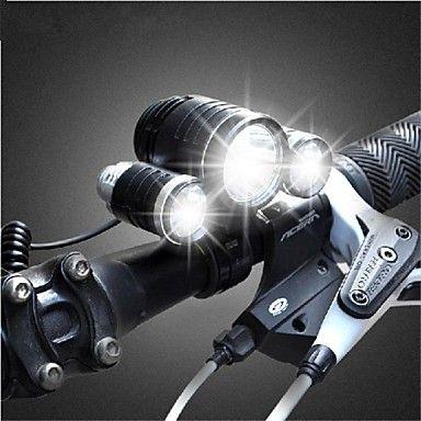 Ultra Bright T6 Bike Hight Power LED Flashlight Front Head Light and Bike Mount