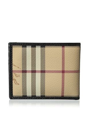 c92e0ffc52e2 Burberry Men s Plaid Bi-Fold Wallet