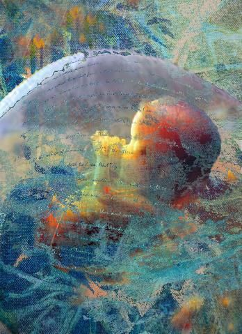 Knit in the Womb | Prophetic art, Christian paintings, Jesus art