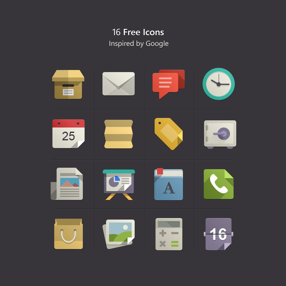 preview Flat design icons, Icon design inspiration, Flat