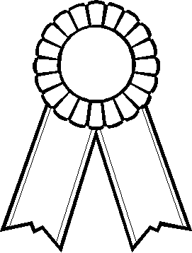 Free Printable Award Ribbons Award Ribbons Coloring Page