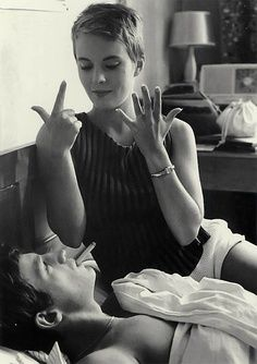 À Bout de Souffle, 1960.Jean-Paul Belmondo and Jean Seberg.