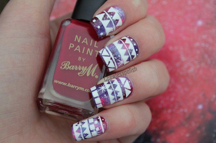 Top 10 DIY Winter Nail Art Tutorials | Winter nail art, Winter nails ...
