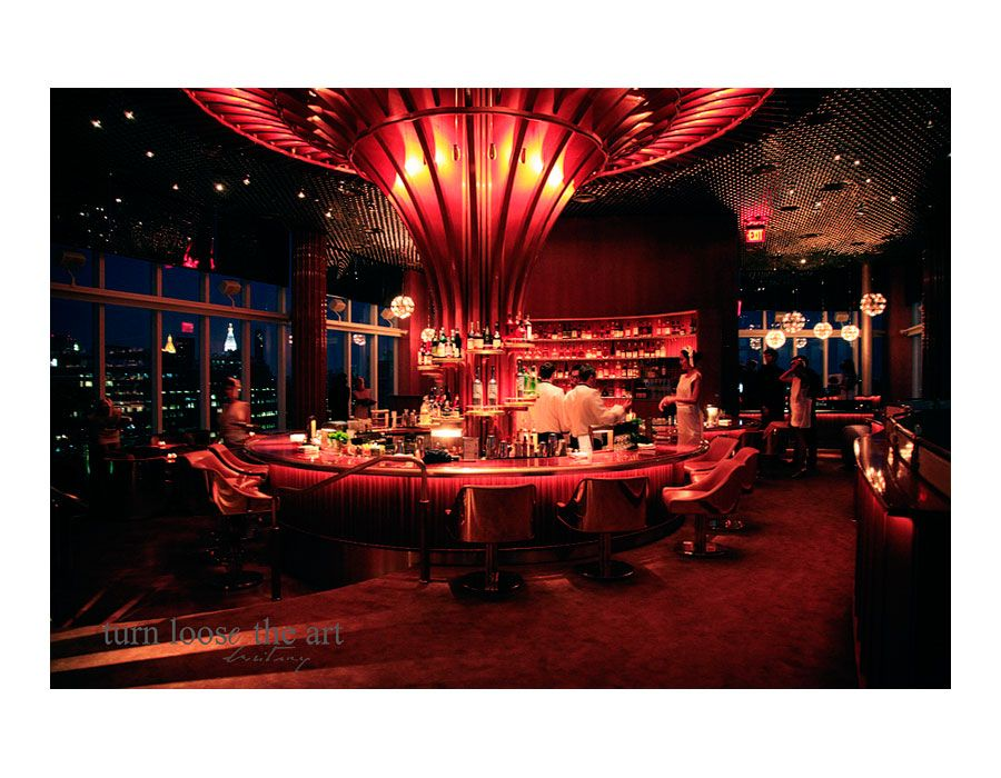 The Boom Boom Room @ The Standard Hotel NY - Amazing views with ...
