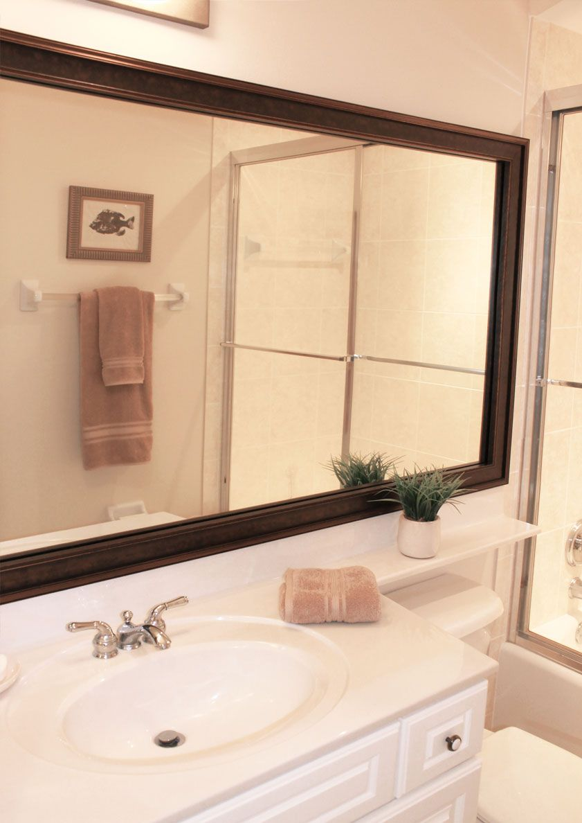 MirrorMate\'s new Kelso Bronzed Brown mirror frame was added to the ...