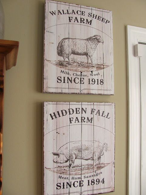I love me some french country signs! | Pintura en madera | Pinterest ...