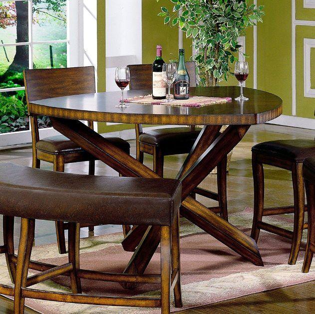 Beautiful Triangle Kitchen Table