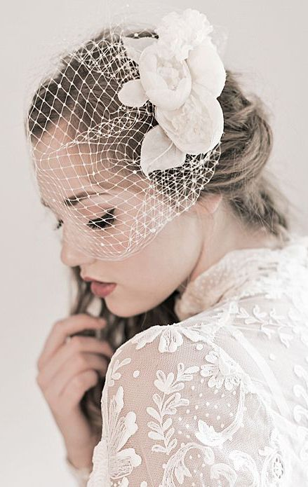 Enchanted Atelier - Peony Cage Veil