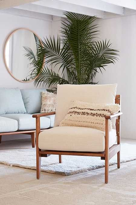 Peyton Arm Chair | Mid century, Spaces and House