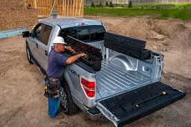 Pickup Truck Cap With Side Storage Google Search Bed Storage