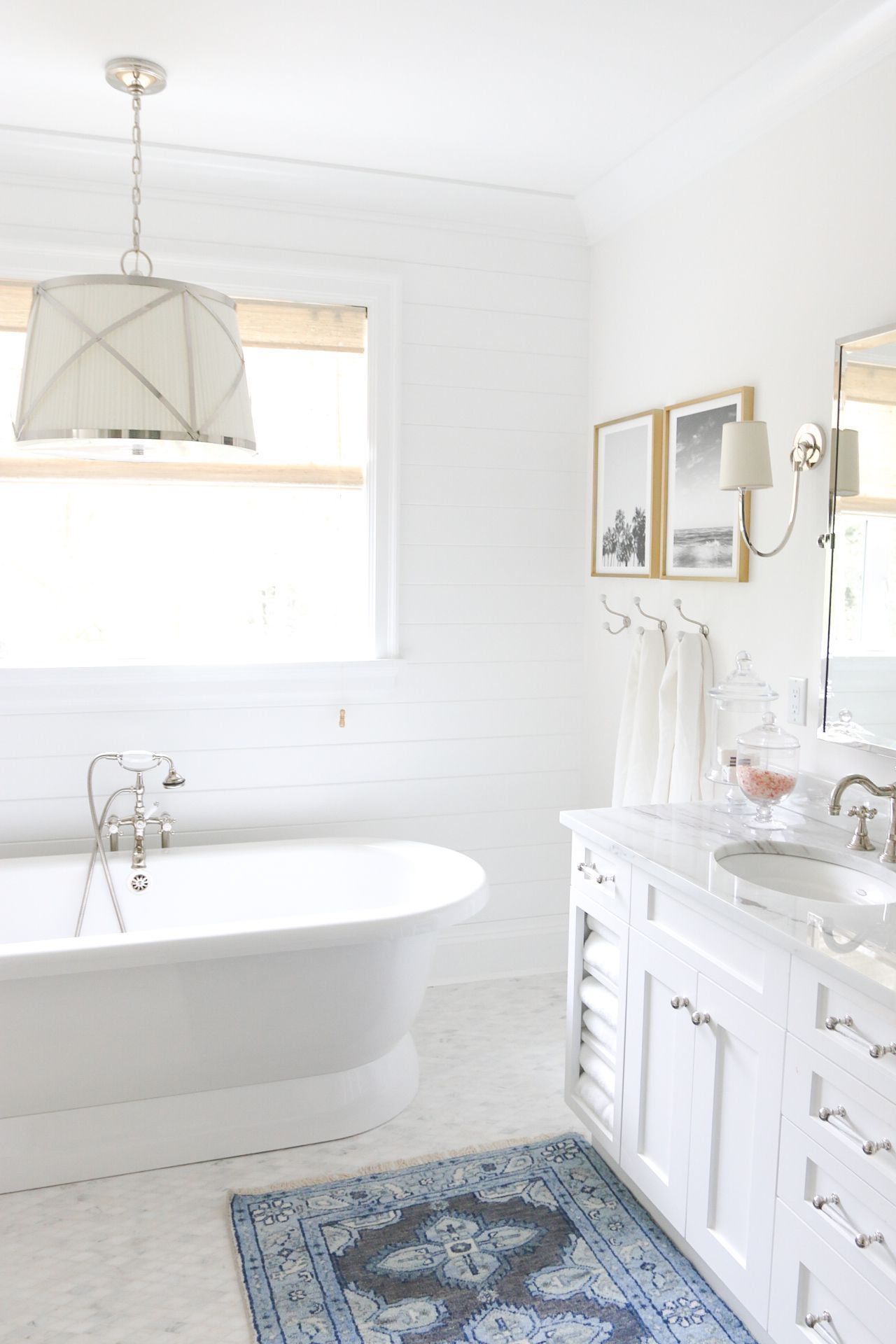 Master Bedroom Bathroom Tub - Feeling Coastal - Httpmonikahibbscom
