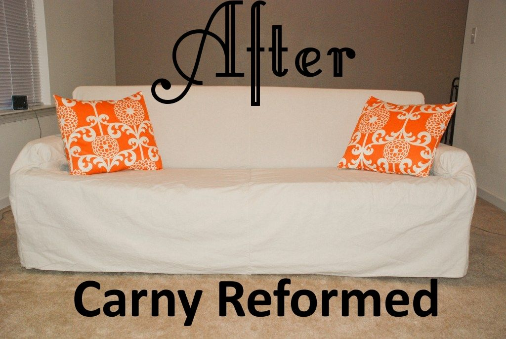 Diy Sofa Slipcovers Behold A Phoenix Rising From The Ashes Diy