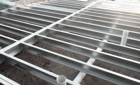 Steel Double Floor Joists