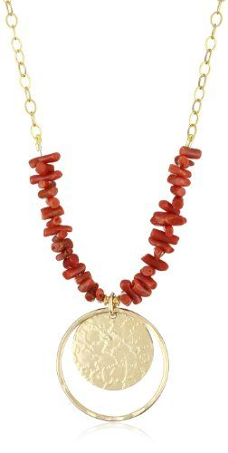 Lotus Jewelry Studio Coral Goddess Necklace « Holiday Adds