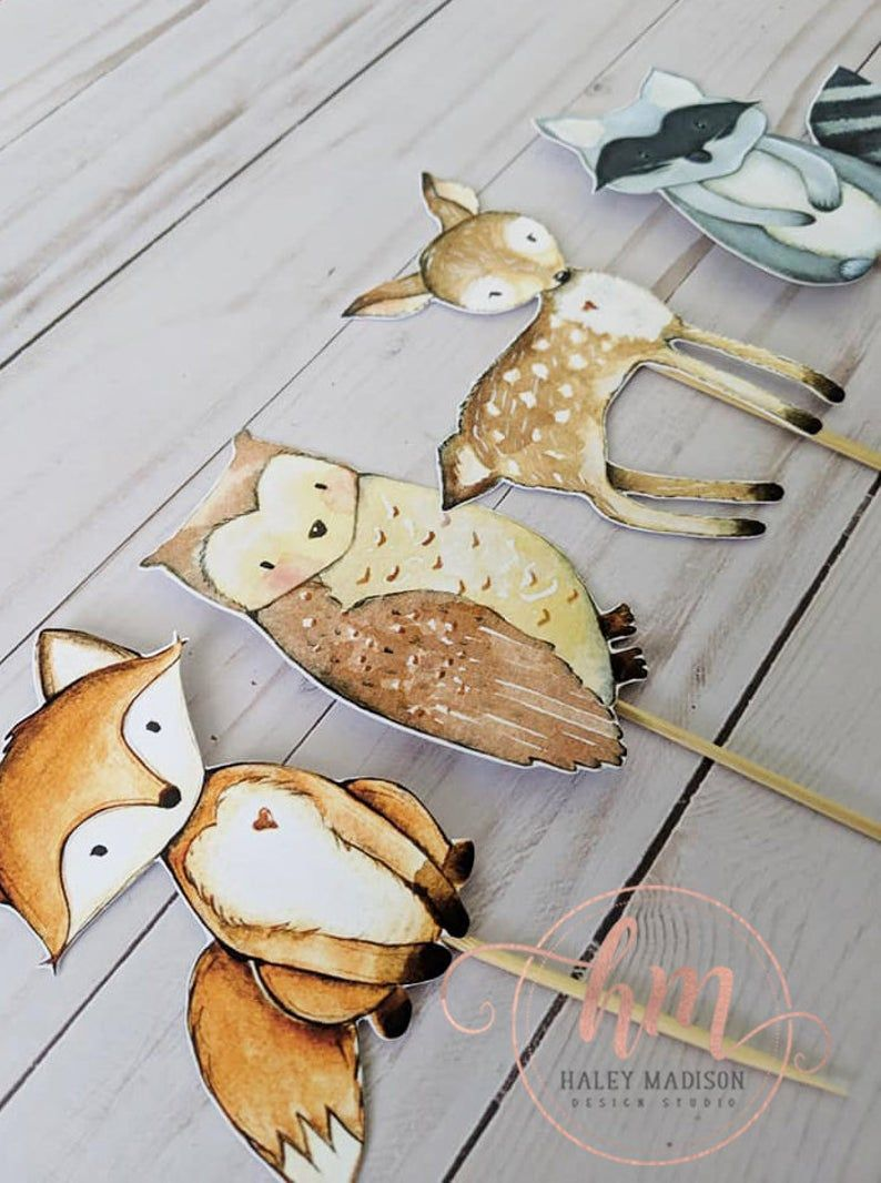 Pin on Woodland Baby Shower