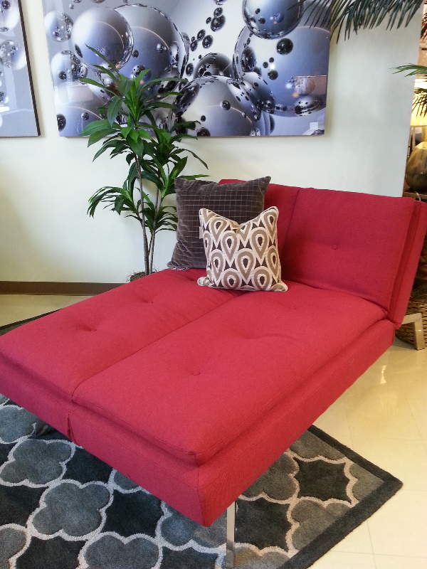 No room for a traditional bed? Don't worry this futon made
