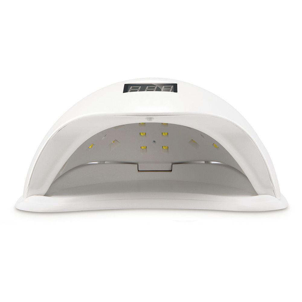 Sunuv Sun5 48 W Dupla Luz Uv Prego Conduziu A Lampada Secador De Unhas De Gel Polones Cura Com Fundo 30 S 60 S Temporizador Dis Led Nail Lamp Nail Dryer Uv Led