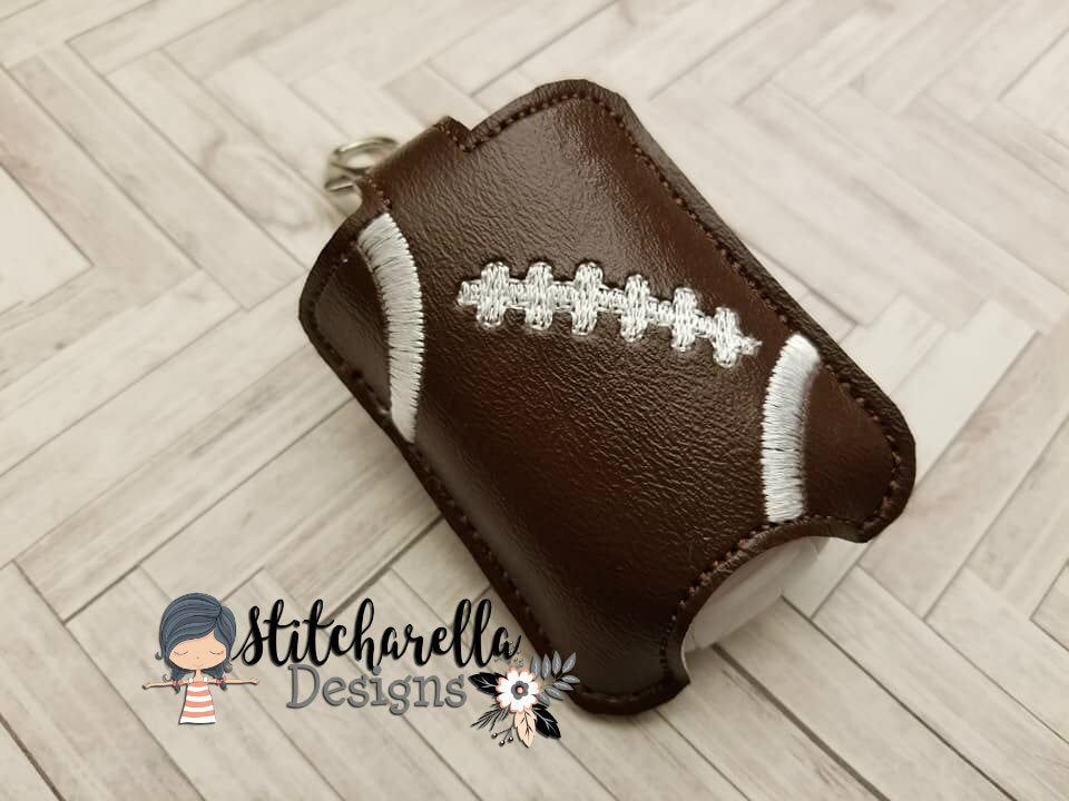 Football Hand Sanitizer Holder By Stitcharelladesign On Etsy Https