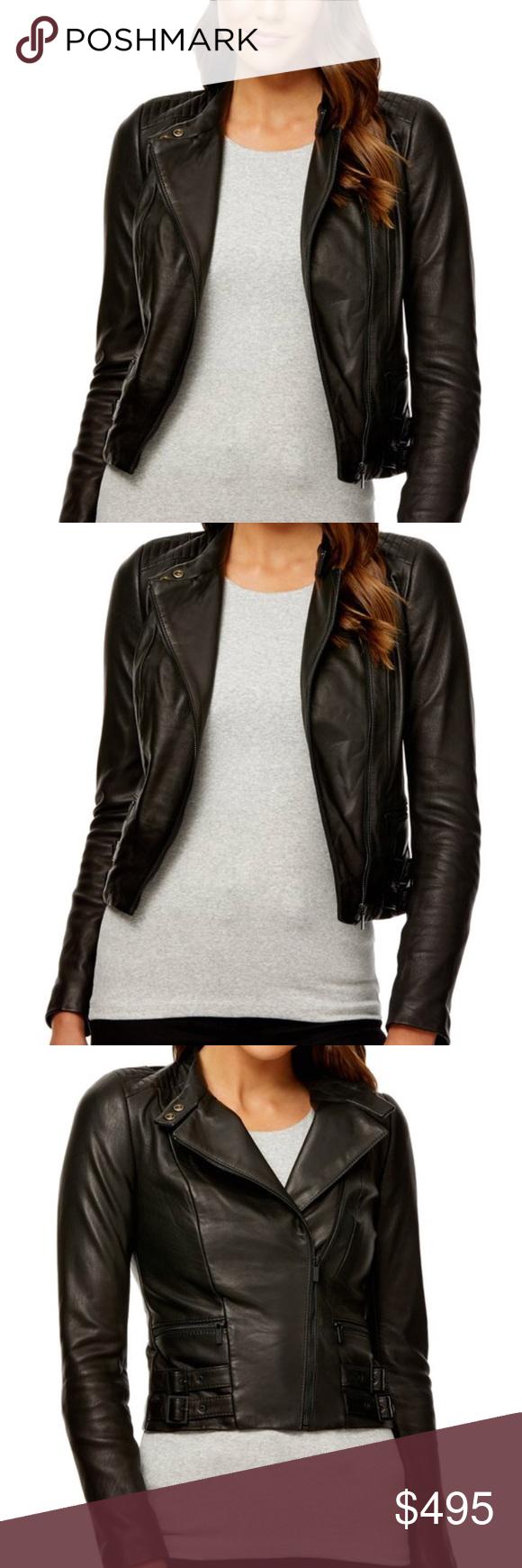de60b00267 Kookai Ramone Leather Jacket Brand is Kookai