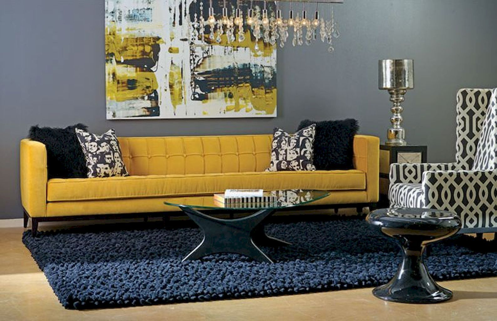 65 Beautiful Yellow Sofa For Living Room Decor Ideas Blue Living Room Decor Blue And Yellow Living Room Blue Living Room