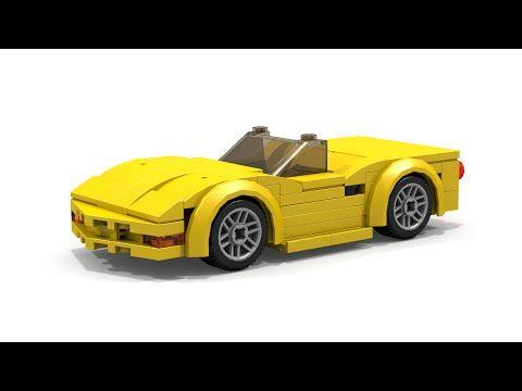 Lego Chevrolet Corvette C5 Convertible Instructions Lego