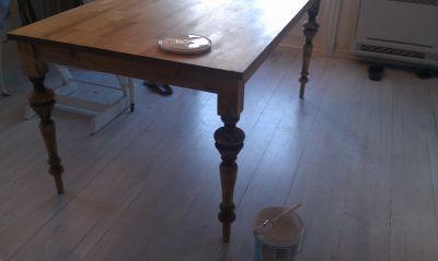 Prosjekt spisebord (Linn's lille)