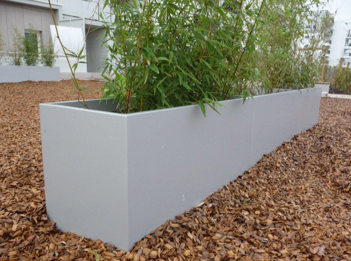 jardini re en fibre ciment bacs pour espaces publics by image 39 in by cr ation cjcj design. Black Bedroom Furniture Sets. Home Design Ideas