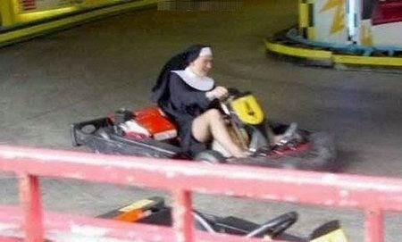 the flying nun everybody enjoys go karts ours can go 45mph or