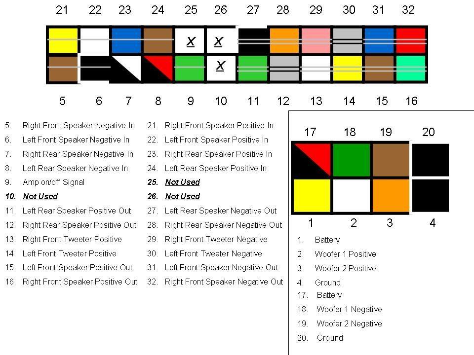 speaker wiring color codes google search automotive pinterest Nissan Radio Wiring Diagram nissan radio wiring color code