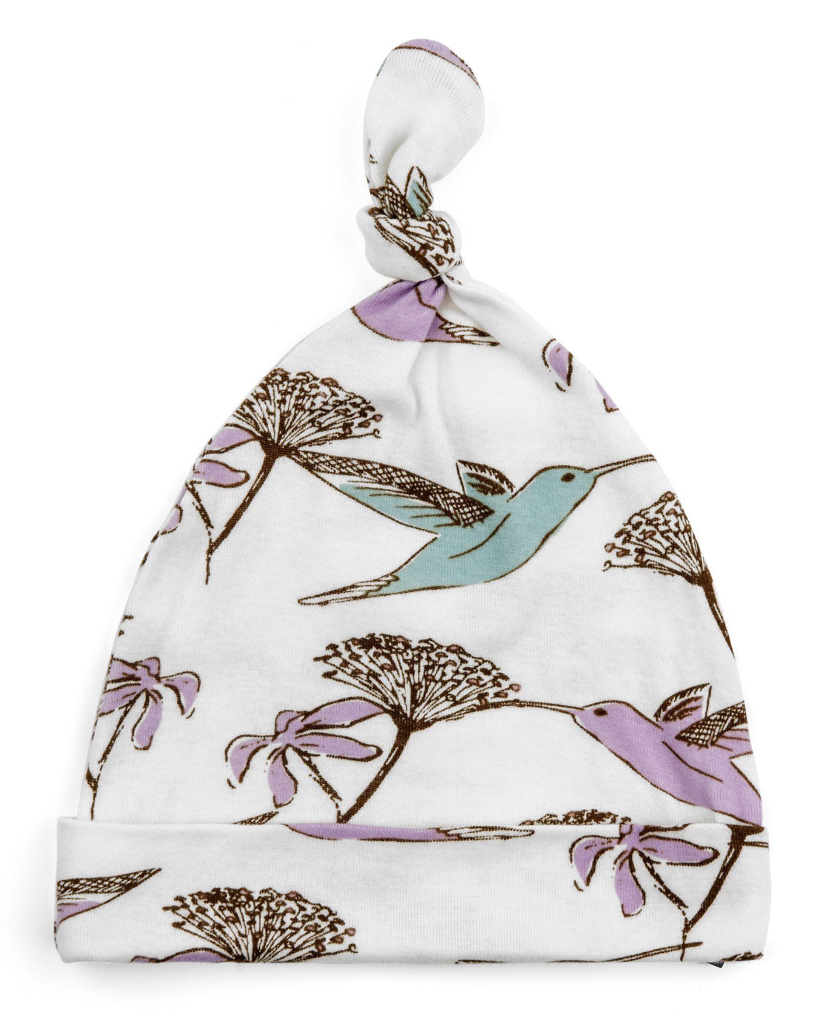 Knotted Hat by MilkBarn Baby - Hummingbird