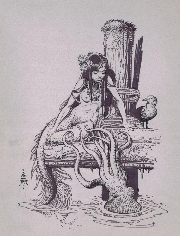 Bill Stout Mermaid