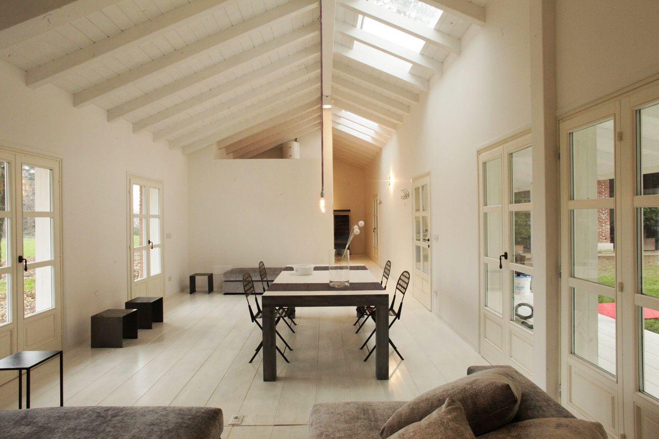 Casa di legno. lighting design by romano baratta