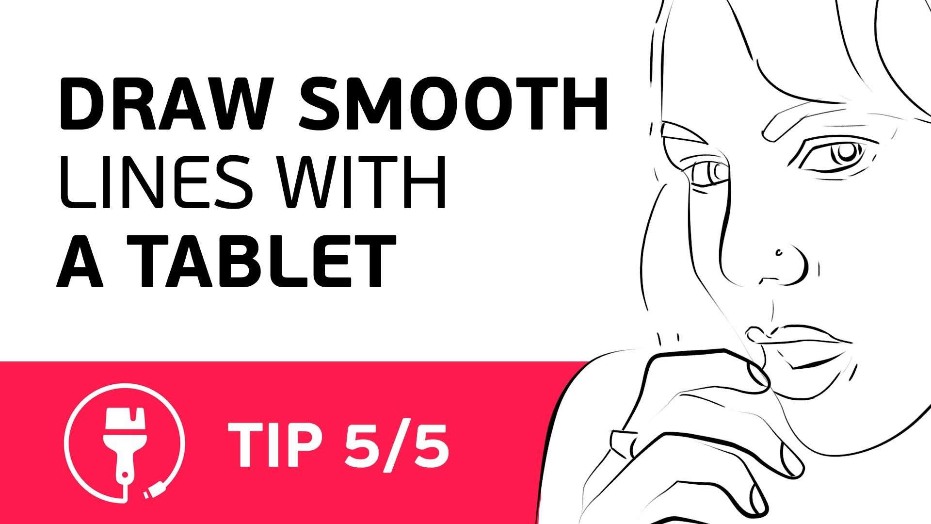 Drawing Lines With Tablet : Digital painting how to draw smooth lines with a wacom tablet