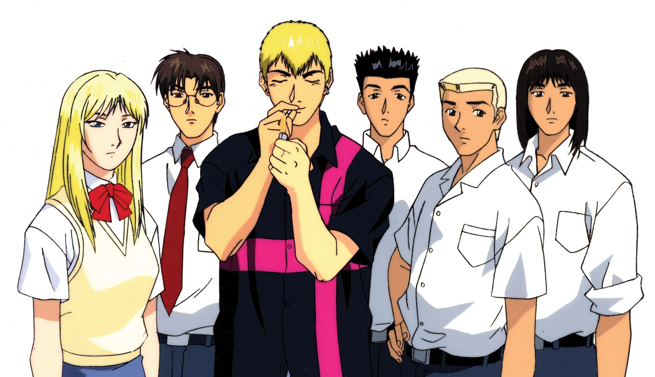 great teacher onizuka anime ile ilgili görsel sonucu
