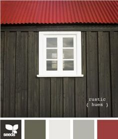 Nice Color Combination For A Red Roof And Dark Grey Walls Description From Pinterest Exterior House Colors House Paint Color Combination Paint Colors For Home