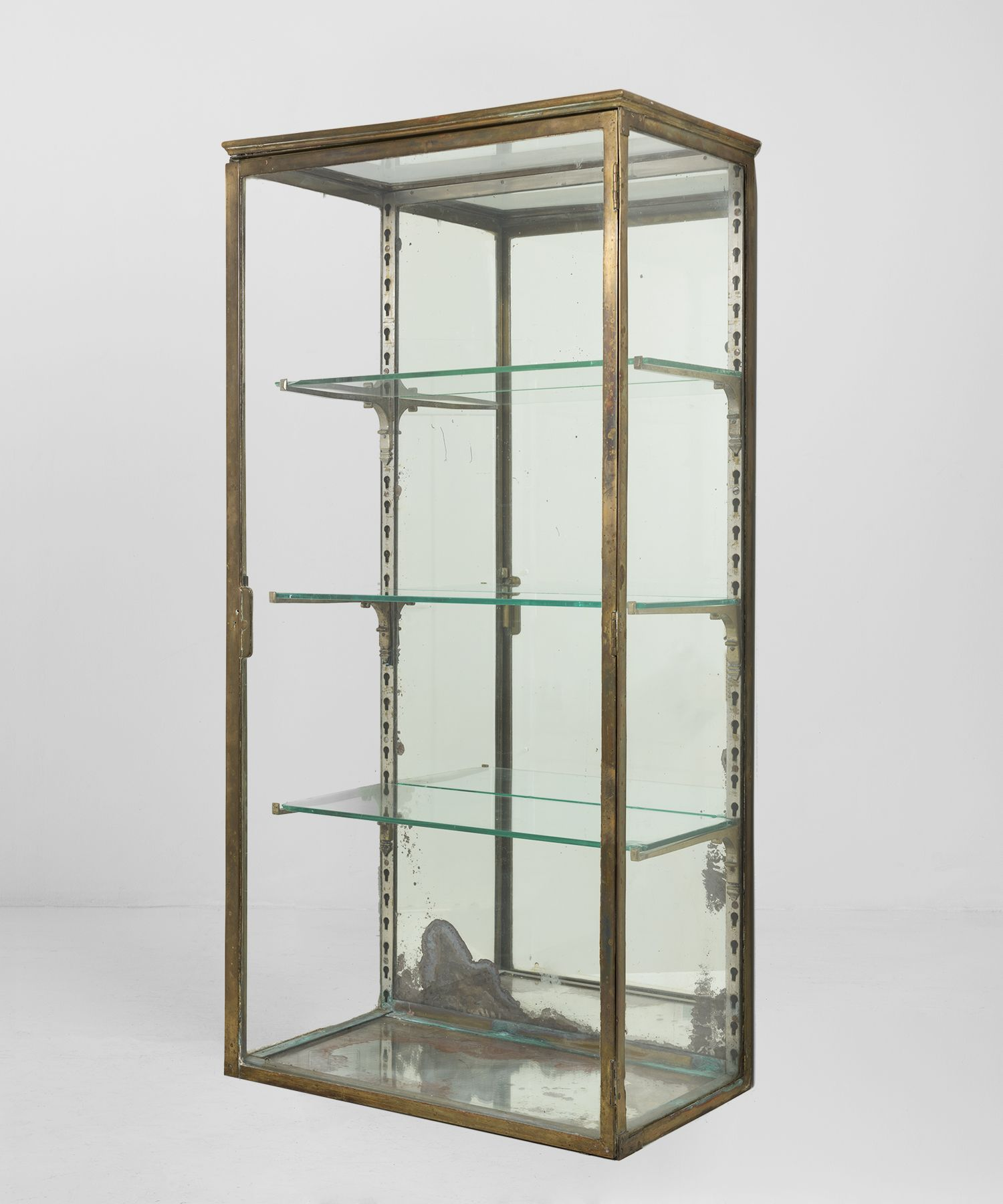 Unique Glass Wall Display Cabinet