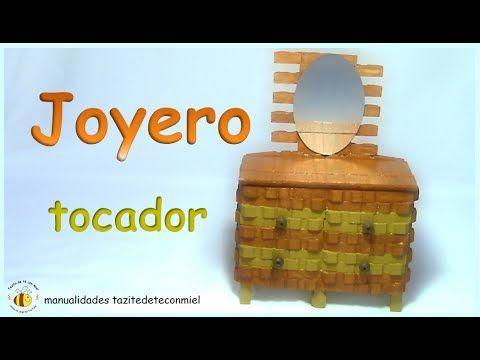 Espero que disfrutes de este nuevo tutorial joyero tocador - Como hacer un joyero de madera ...