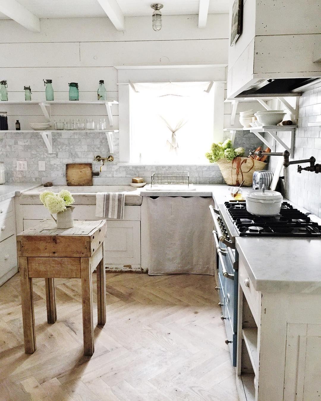 Großartig Bauernküche Dekorideen Pinterest Fotos - Küchenschrank ...