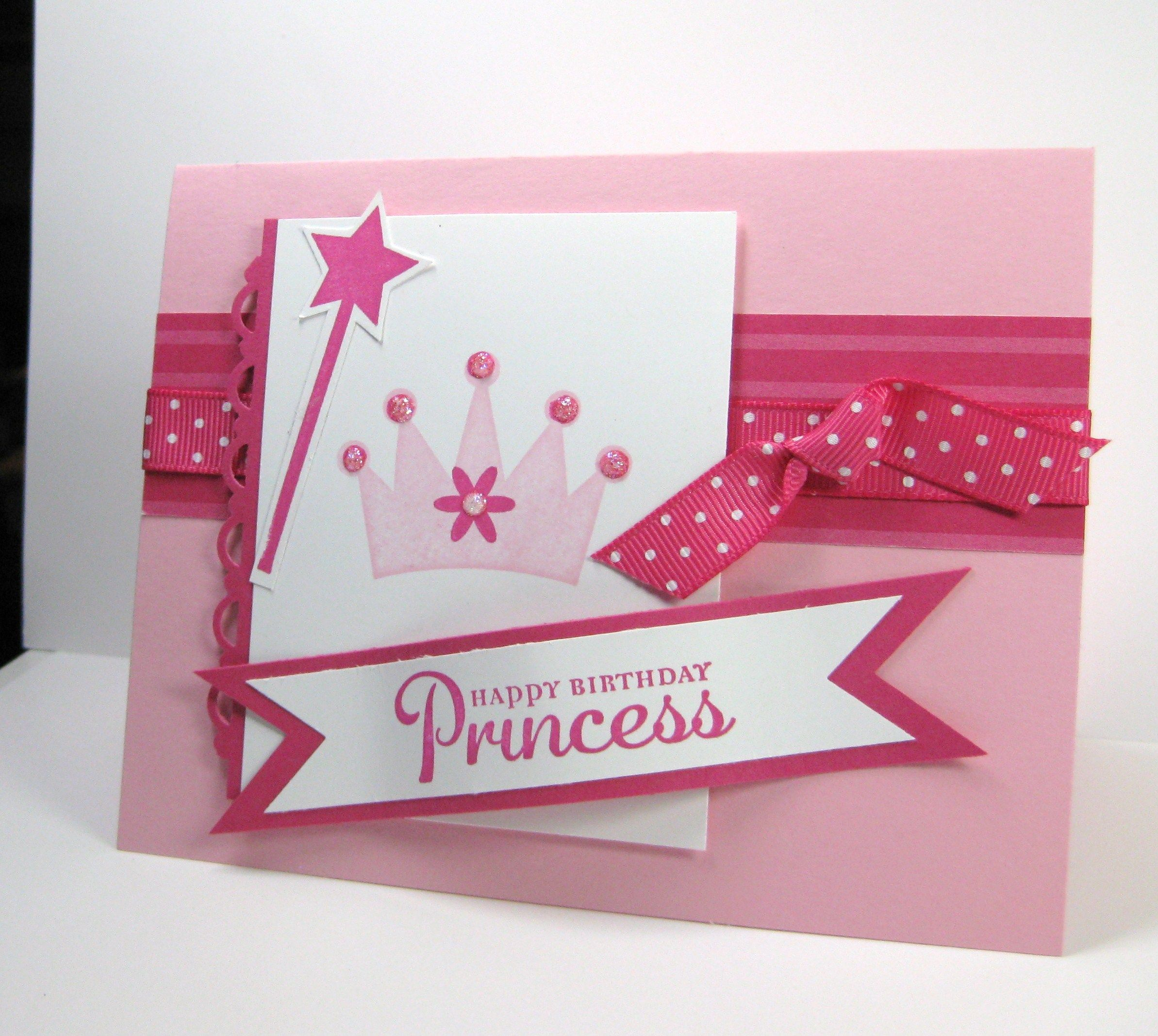 Happy Birthday Princess Card Princess Pinterest Happy