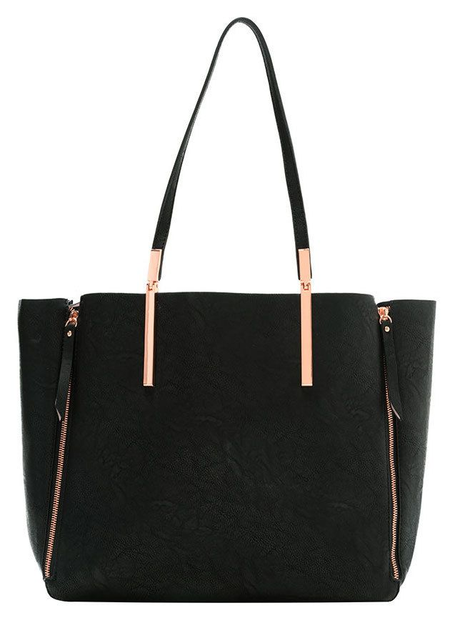 The Famous Black & Gold Tote Bag - Random Hive | My Style ...