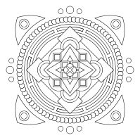 Print and color mandalas online and a designer so you can