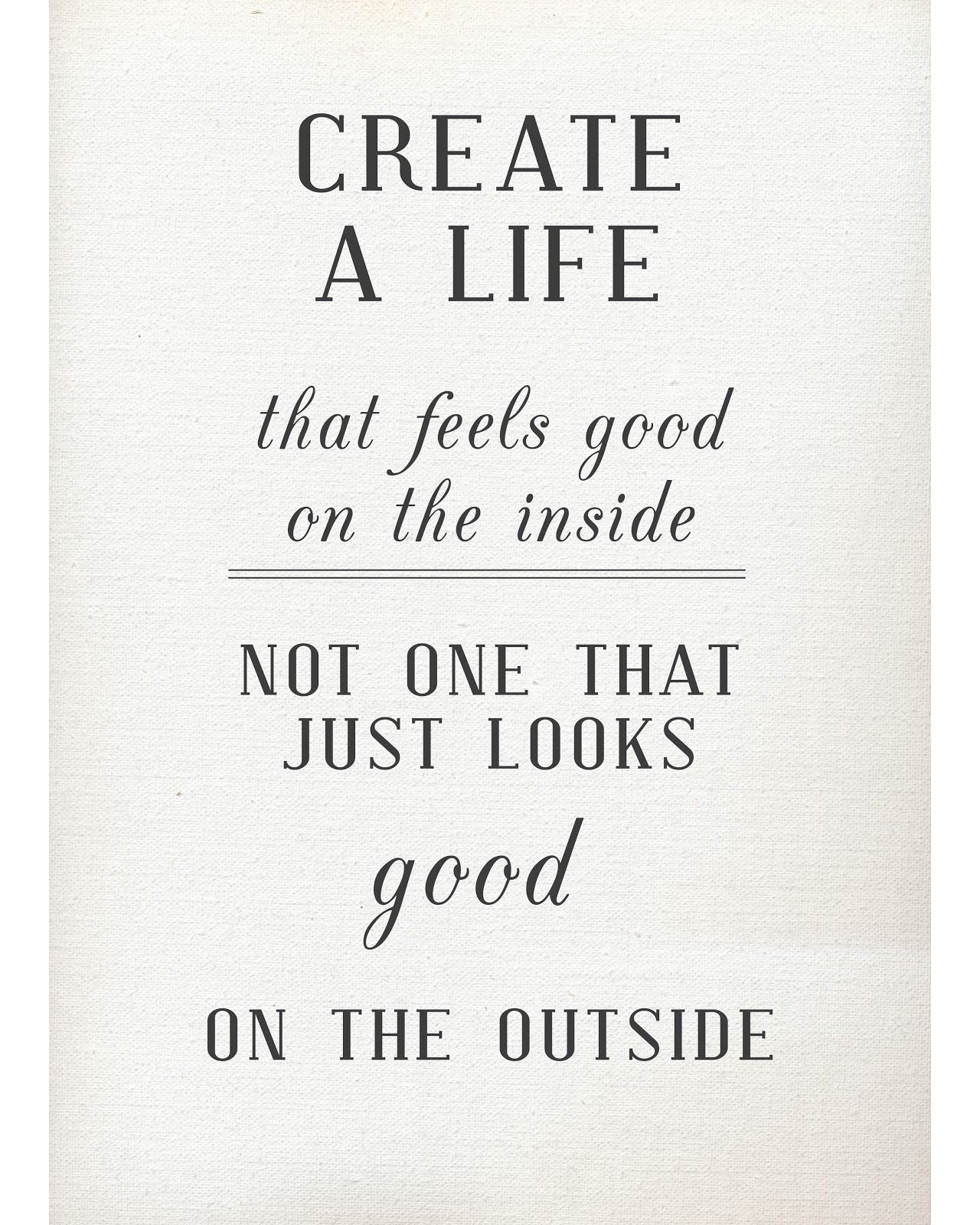 Good Life Quotes So Many People Have Such Worry About Having Beautiful Pretty