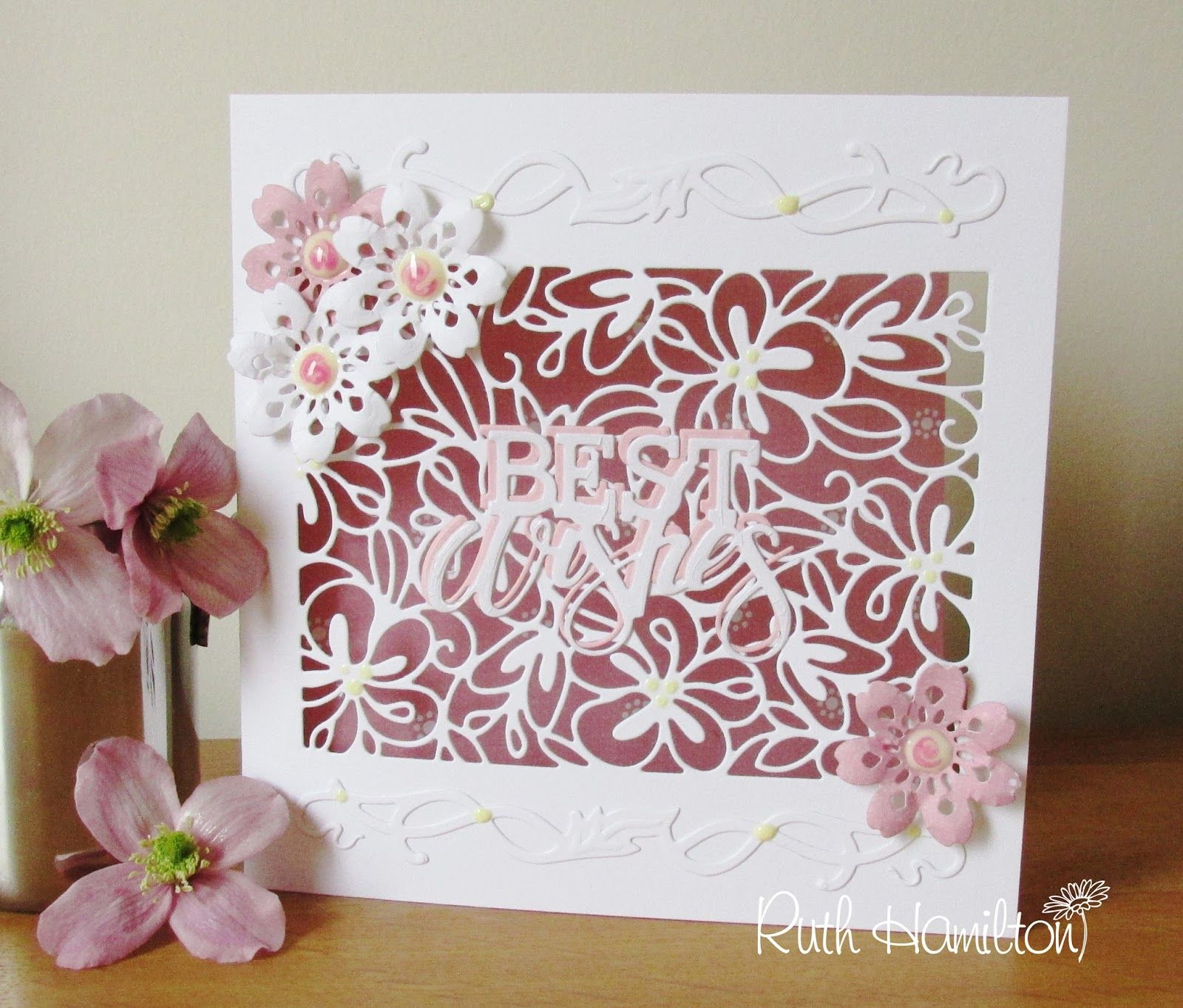 Best Wishes Floral Blooms Tonic Studios Cards Studio And