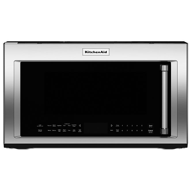 Kitchenaid Over The Range Microwave 1 9 Cu Ft Stainless