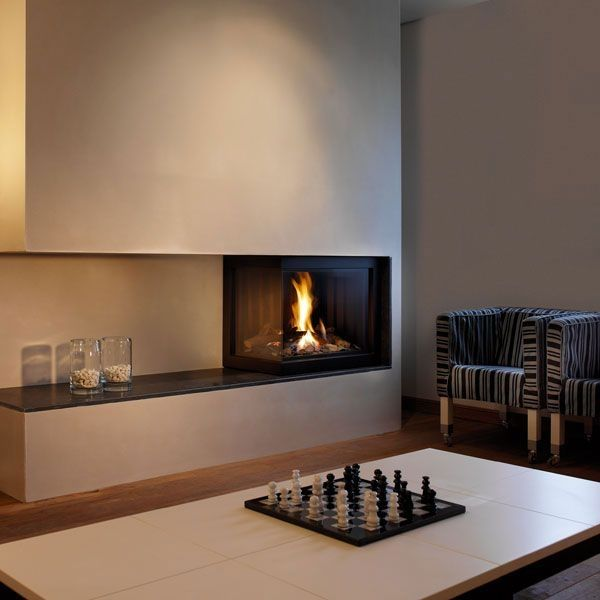 modern gas fireplace inserts grey bathroom furniture corner