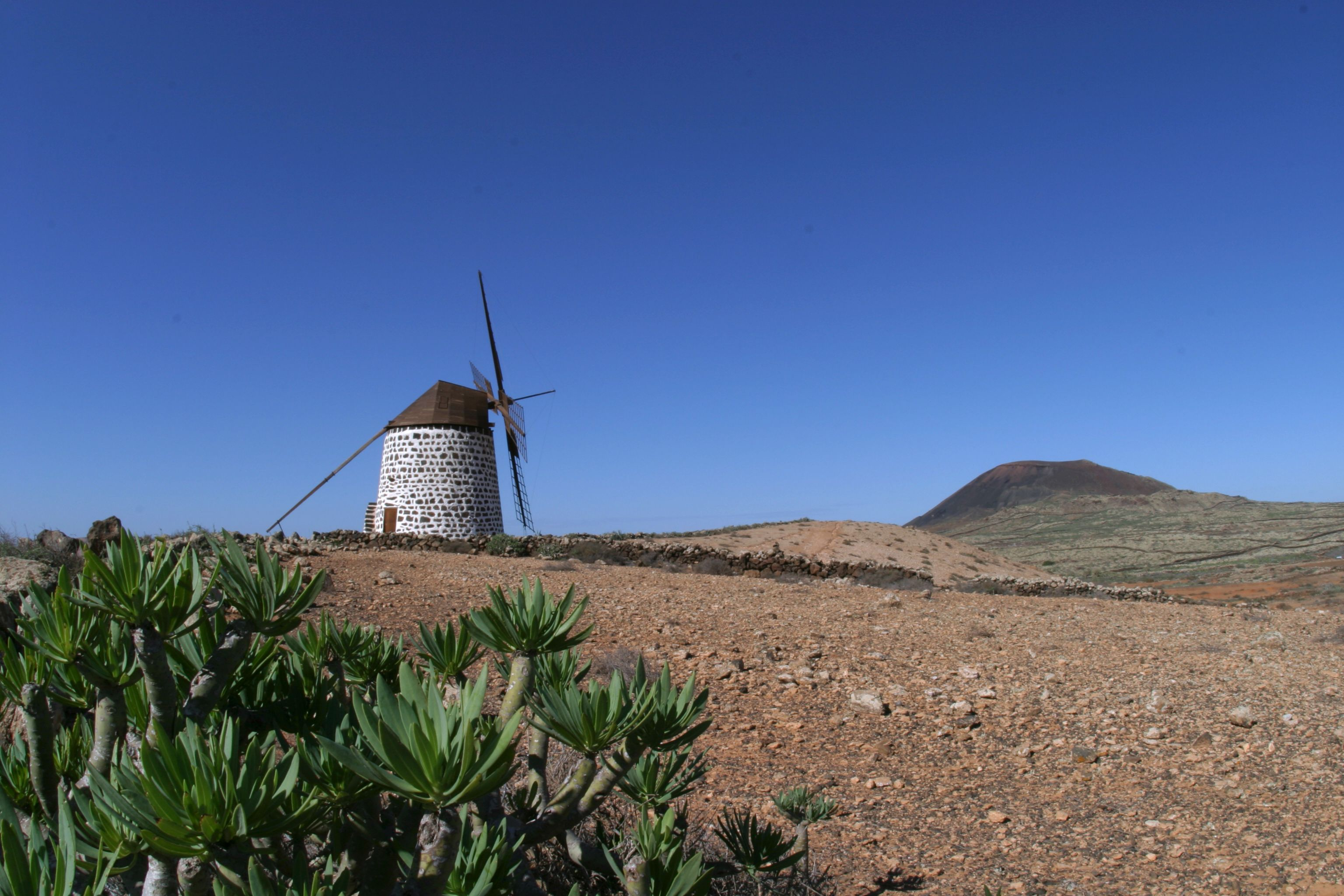 Fuerteventura - beautiful hillside