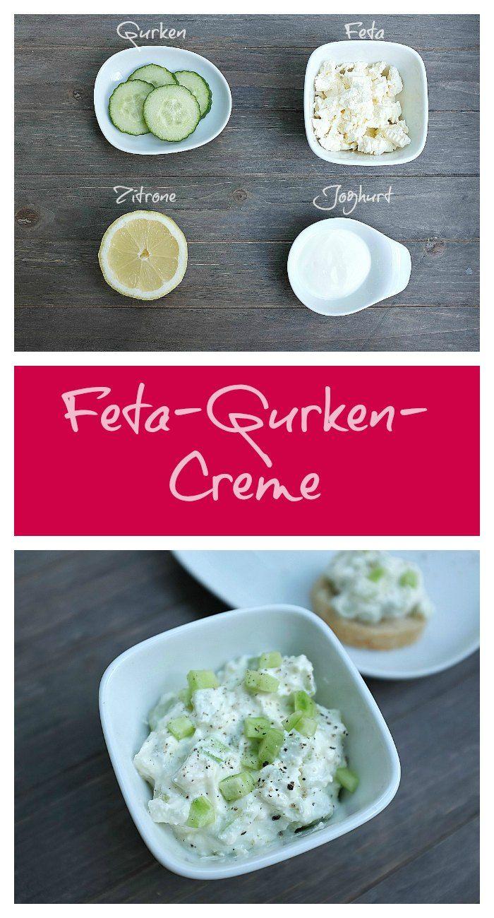 Gurken-Feta-Aufstrich - Schnelle & einfache Rezepte
