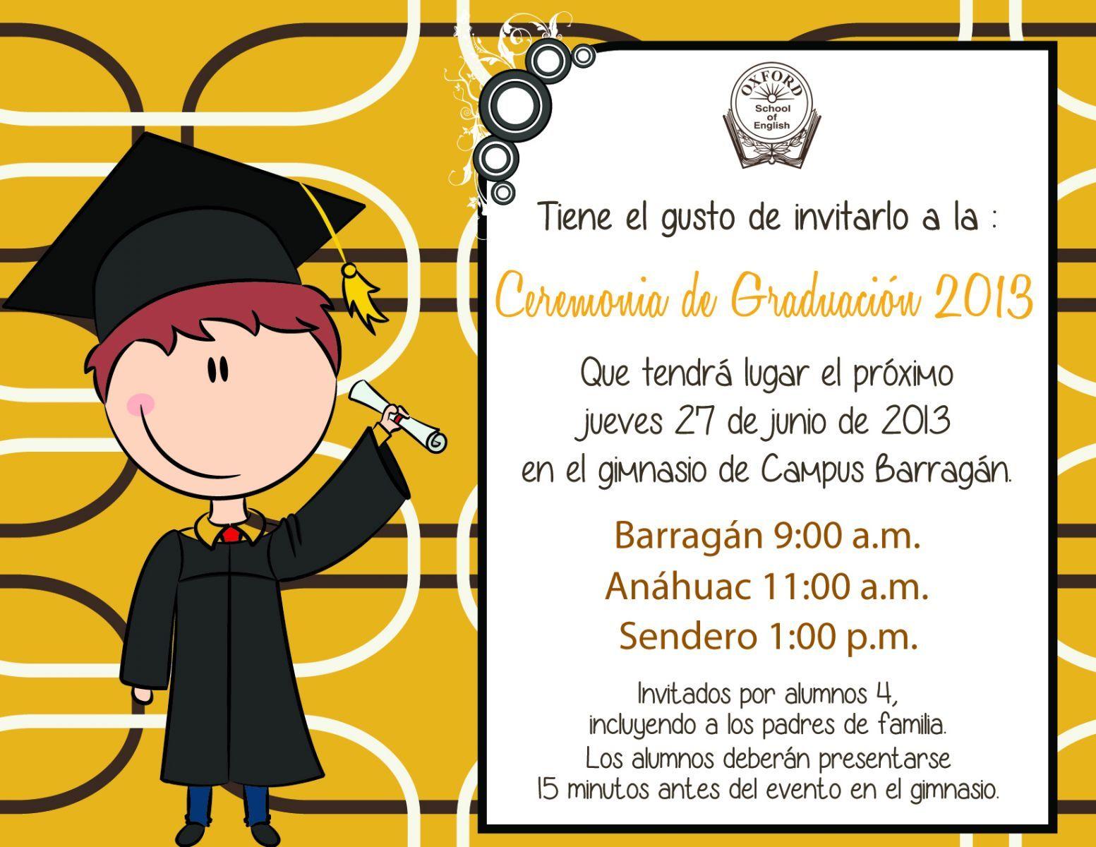 Fondos De Tarjetas De Graduaciones